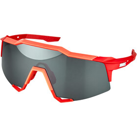 100% Speedcraft Gafas Alta, soft tact coral/mirror